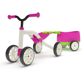 Chillafish Quadie+Trailie Enfant, pink